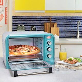Americana By Elite 6 Slice Retro Toaster Oven Retro Toaster Toaster Oven Retro Oven