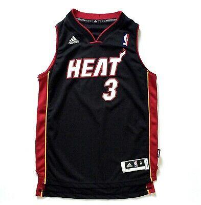 Advertisement Ebay Adidas Nba Jersey Dwayne Wade 3 Miami Heat Kids Sz M 10 12 Black Jersey Euc Adidas Nba Jersey Dwyane Wade Jersey Miami Heat