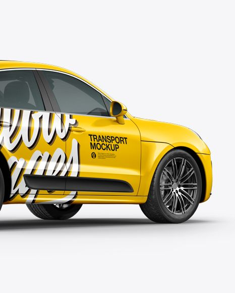 Download Luxury Suv Srossover Mockup Back Half Side View In Vehicle Mockups On Yellow Images Object Mockups Mockup Free Psd Mockup Free Download Psd Mockup Template PSD Mockup Templates
