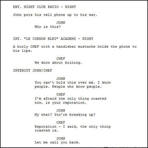 The Origins And Formatting Of Modern Screenplays Screenplay