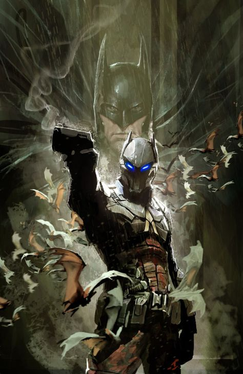 arkham knight cover by nebezial  ==================== More:  Batman Random Check out Batman: Arkhan Knight for PS4!