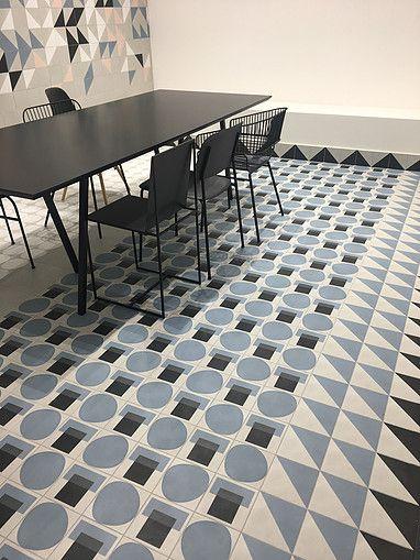 Carrement Victoire Collection Futura 2018 Carreaux Ciment Terrazzo Paris