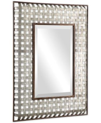 Uttermost Fabelle Galvanized Metal Mirror Reviews All Mirrors Home Decor Macy S Metal Mirror Galvanized Metal Mirror