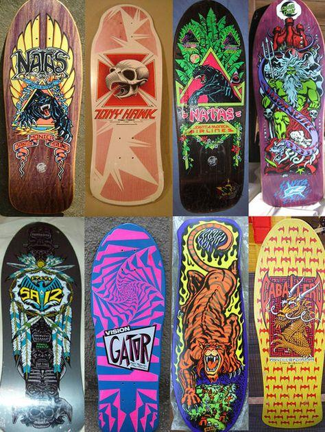 Vintage Powell Peralta Bones skateboard skate vision street wear zorlac Santa Cruz S