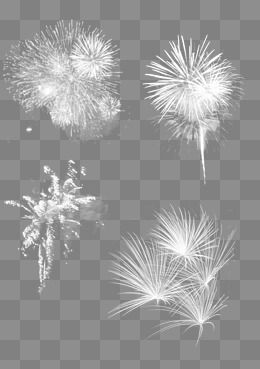 Four White Fireworks Fireworks Clipart Light Fireworks Joyous Png Transparent Clipart Image And Psd File For Free Download Fireworks Clipart Fireworks Clip Art