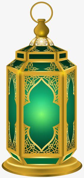 الذهب مرآة مستطيلة أنبوب خمر النفط مصباح Ramadan Lantern Lanterns Green Lantern