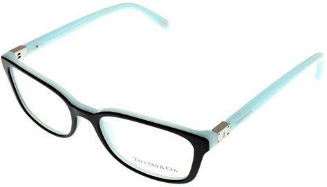 58096b3ccad Tiffany   Co. Women Eyeglasses Designer Black Rectangular TF2094 8055 Review