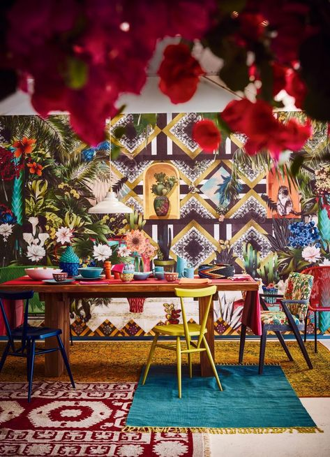 Interior Trend: Frida Kahlo Style. Viva La Frida – Mexican ... on paradise designs, mexican painting, modern floor designs, korean house plans and designs, mexican weddings, mexican living room design, mexican art, mexican houses, mexican style homes, mexican architecture, mexican villa design, mexican furniture, mexican household, spanish exterior designs, day of the dead skull designs, mexican room ideas,