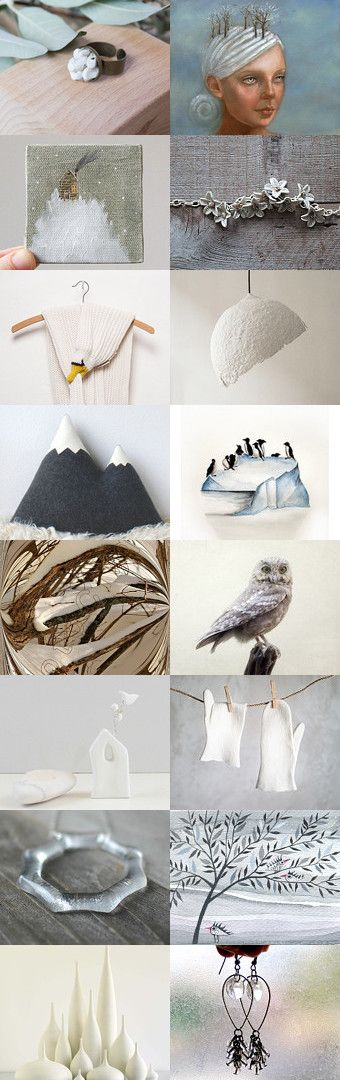White winter by 3buu on Etsy--Pinned with TreasuryPin.com