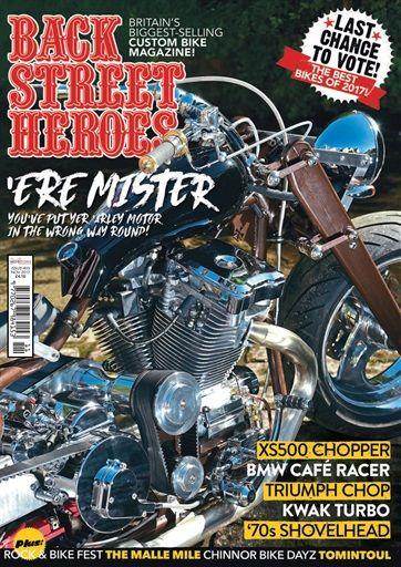 Back Street Heroes Magazine Bike Magazine Triumph Cafe Racer Hero