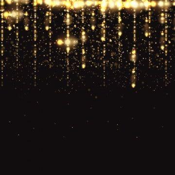 Garland Border Gold Glitter Vector Background Gold Glitter Background Glitter Background Graphic Design Background Templates