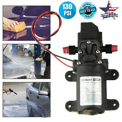 Ad Ebay Url 12v Water Pump 130psi Self Priming Pump Diaphragm High Pressure Automatic Switch In 2020 High Pressure