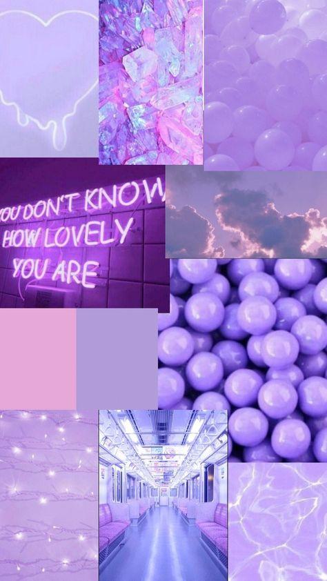 Aesthetic purple wallpaper 💜
