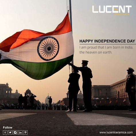 LUCENT CERAMICA - Happy Independence Day