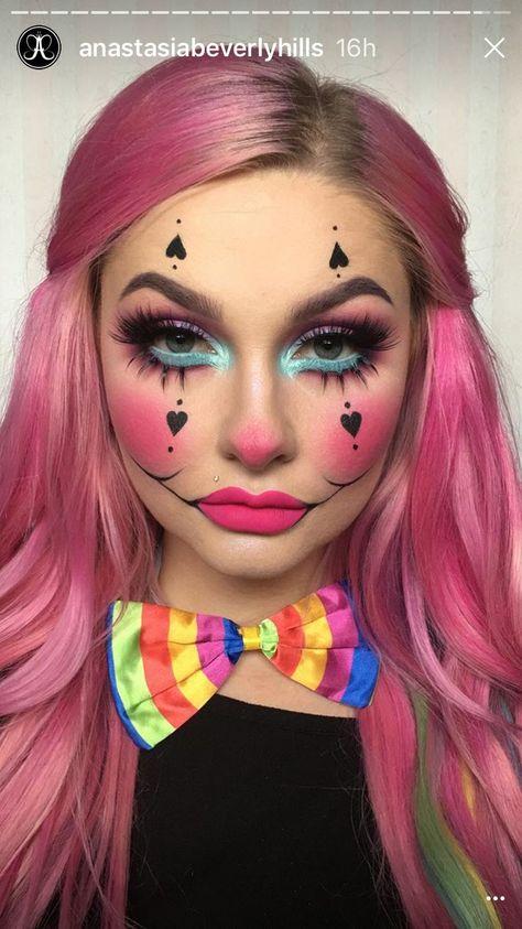 Maquillaje payaso #maquillaje #makeup