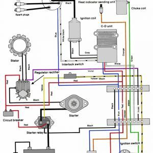 Boat Outboards Electric Start Wiring Diagrams