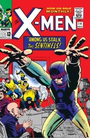 Uncanny X Men 14 First Appearance Of Bolivar Trask Sentinels Marvel Comics Covers X Men Comics