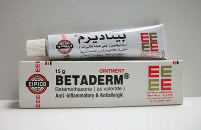 بيتاديرم مرهم مضاد الالتهابات الجلدية والحساسية Betaderm Ointment Ointment Pharmacy Inflammatory