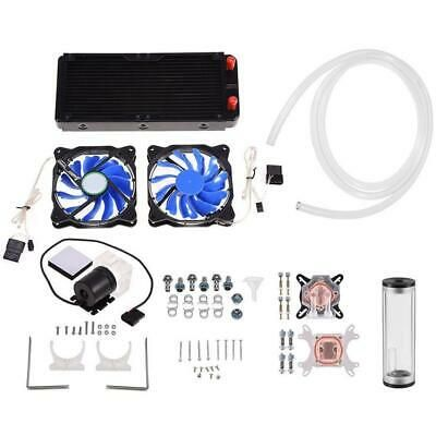 Sponsored Pc Liquid Cooling 240mm Radiator Cooler Kit Pump Reservoir Cpu Gpu Heatsink In 2020 Diy Water Fans For Sale Diy Cooler
