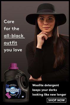 Woolite Detergent Keeps Your Darks Looking Like New Longer Let