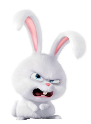 Snowball The Secret Life Of Pets Cute Bunny Cartoon Cute Cartoon Wallpapers Cartoon Wallpaper