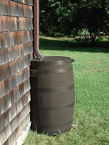 How To Build A Rain Barrel For Under 30 Rain Barrel Off Grid Tiny House Rain Water Collection