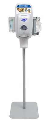 Wood Purell Hand Sanitizer Dispenser Stand Purell Hand Sanitizer