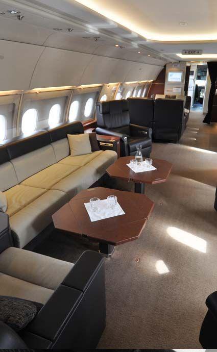 Interior for Armada Bloc VIP plane 1