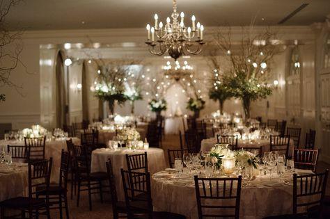 Keswick Hall Ballroom   Ashley & Bob's Keswick Hall Wedding