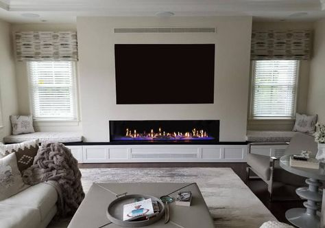 Elite 60 Recessed Electric Fireplace