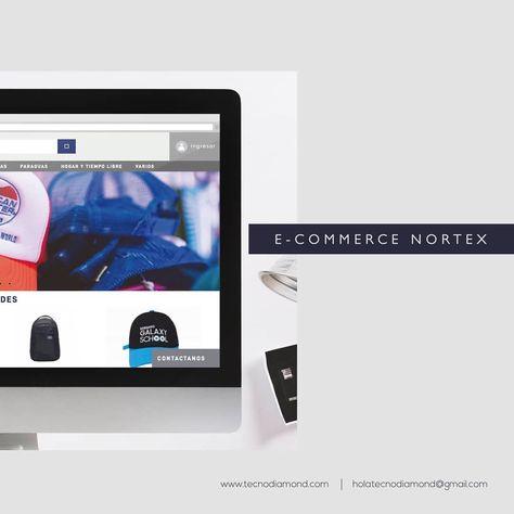 92bbf9c48aa4 Nortex es una empresa enfocada en ofrecer las mejores soluciones de  merchandising 💎 ¿Qué hicimos  • • • Diseñamos el nuevo sitio utilizando  las últimas ...