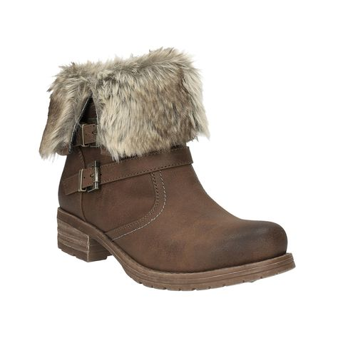 47b51fa1e407 Bata Ladies  ankle boots with fur - Ankle boots