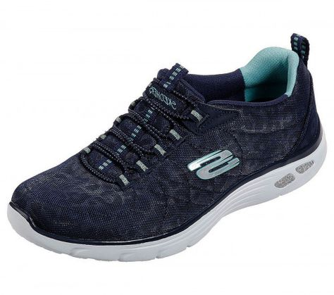 Skechers Empire D'Lux Spotted Spotted Leopard Relaxed Fit