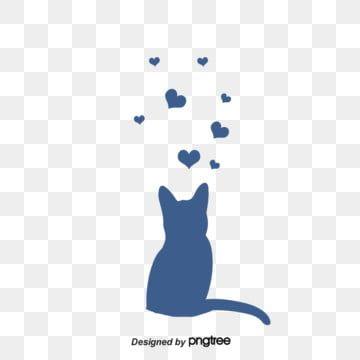 고양이 고양이 서로 고양이 만나다무료 다운로드를위한 Png 및 Psd 파일 코끼리 배경 고양이 스티커 강아지 그림