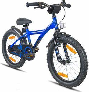 Prometheus Kinderfahrrad 18 Zoll Jungen Madchen Blau Schwarz Ab 6 Jahre Mit Alu V Brake Und Rucktritt 18zoll Bmx Modell 2019 Kinderfahrrad Kinder Fahrrad Fahrrad