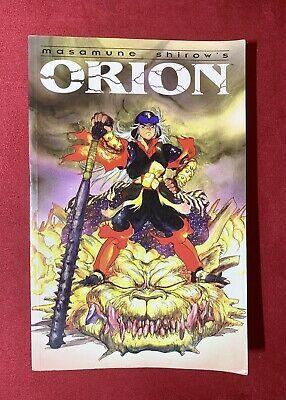 Orion By Masamune Shirow Dark Horse English Manga 1995 Paperback Oop Rare Affilink Manga Mangalot Graphicn Dark Horse Masamune Shirow Dark Horse Comics