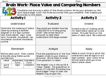 Bloom S Taxonomy Math Menus By Melissa Shutler Teachers Pay Teachers Math Menu Blooms Taxonomy Math