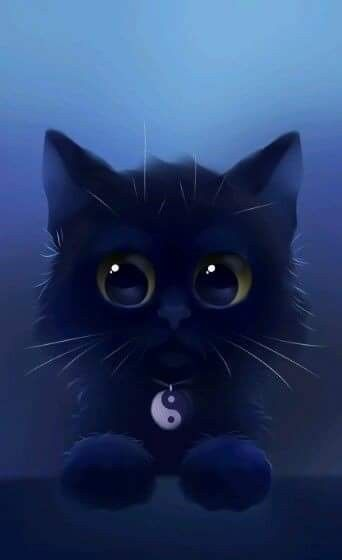 Adorable With Images Cute Cats Cute Animal Drawings Cute Animals