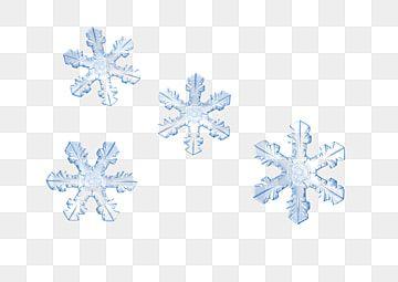 Fond Bleu H5 De Cristal Snowflake Lights Ice Blue Color Blue Snowflakes