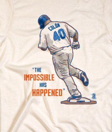 Mets Bartolo Colon Home Run The Impossible Has