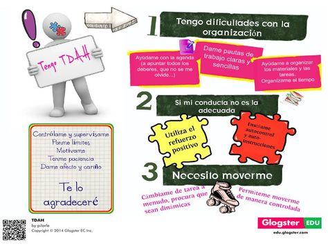 Tengo Tdah Poster Tdah Autocontrol Educar