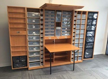 44+ Ideas craft room storage shelves doors
