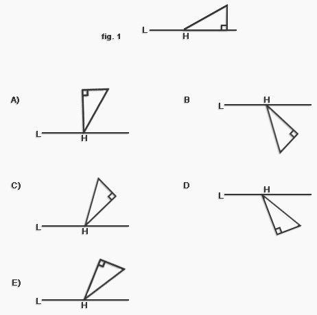 Preguntas Psu De Matemáticas Rotación De Figuras Planas Psu Ejercicios De Calculo Matematicas Planos