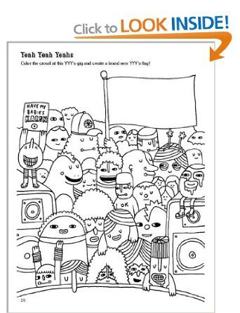 indie rock coloring book amazoncouk yellow bird project books coloring pages pinterest coloring books indie and rock - The Indie Rock Coloring Book