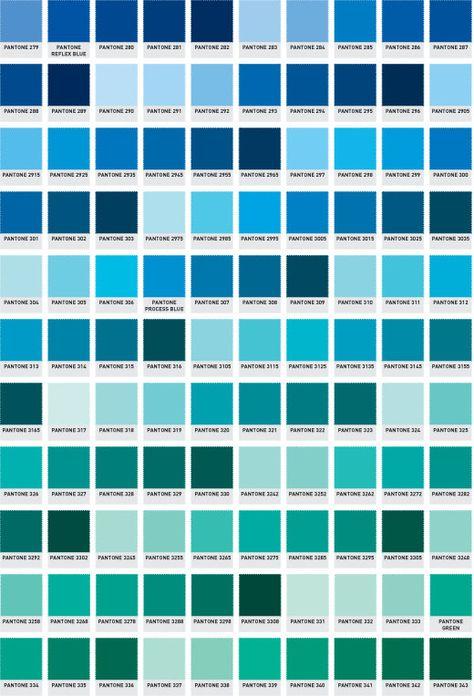 Pantone Colour Guide | The Printed Bag Shop | Pantone Numbers