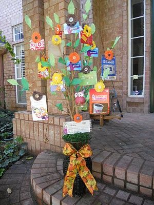 Gift Card Tree...Ask every family to pick up a gift card, their choice of amount and business. How cool is this idea? And the creativity of gift card choice is endless.  :)