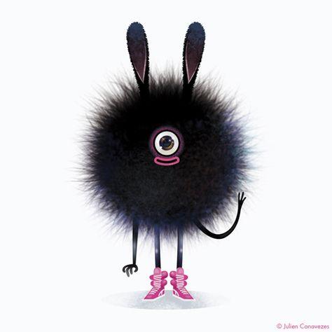 #monster #monstre #mascotte #poile #monstrepoilu #cute #cutemonster #sweet #doux #mignon