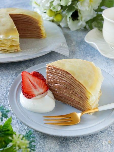 で ホット クレープ ミックス ケーキ ミル ホットケーキミックスで簡単!ヌテラの爽やかクレープ 作り方・レシピ