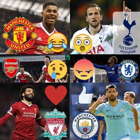 Who is going to win the English Premier League this season?   . Let us know your emoji pick below!  Occy Tipsters FREE & Premium Tips on Australian Race Meetings Sporting Events Singapore and Hong Kong meetings too! .OCCY & CO TIPSTERS . Join Our Facebook Group and new Website coming soon! . . . . #premierleaguefootball #premierleaguefans #premierleaguepredictions #premierleaguebetting #premierleague #soccer #championsleague #epl #liverpool #manchesterunited #arsenalfc #chelseafc #tottenham #man