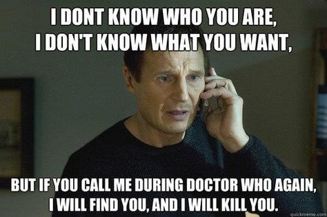 Yes. And not just during Doctor Who.
